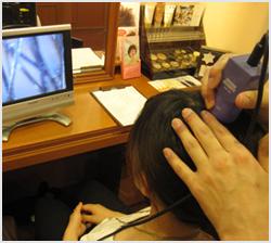 頭皮診断・カウンセリング