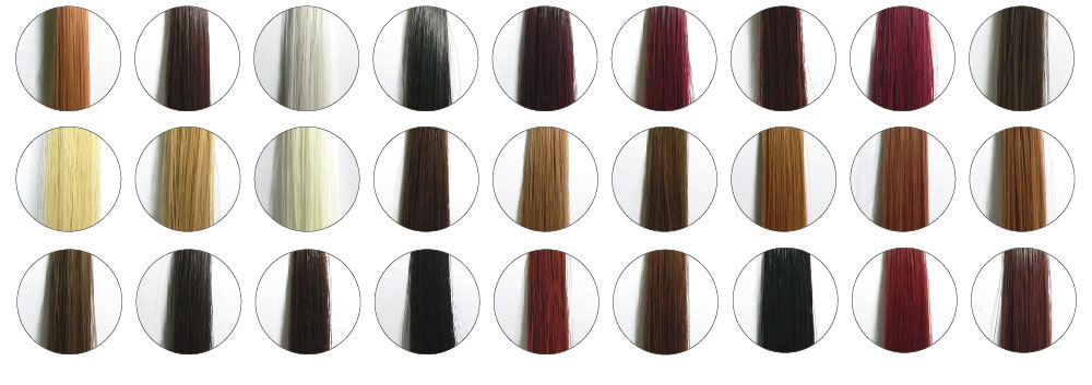 カラーは全27 色あらゆる髪色に対応します。