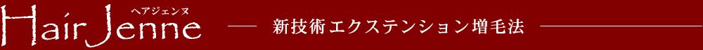 volumeexte(ヘアジェンヌ)新技術エクステンション増毛法